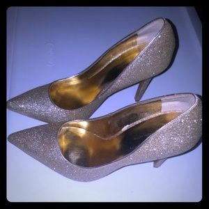 Macys Inc sparkly high heel shoes